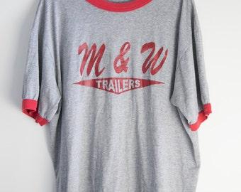 M & W Trailers tshirt