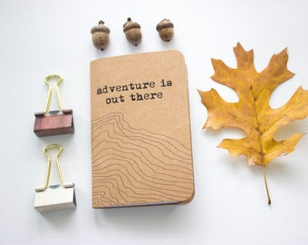 Adventure Is Out There Handmade Travel Journal