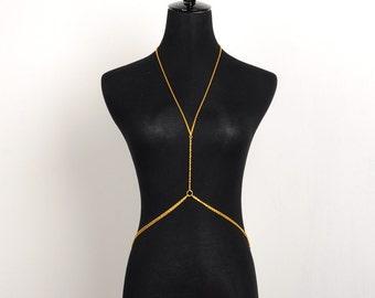 Body chain gold