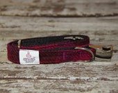 Harris Tweed side release collars, dog collar,dog accessories, quick release collar - checks and tartans