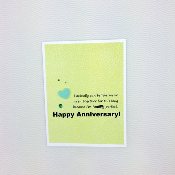 Perfect For Anniversary Cards And: I'm Fuing Perfect Anniversary Card
