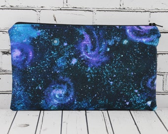 Galaxy Pencil Case, Solar System Pencil Case, Space Bag, School Supplies