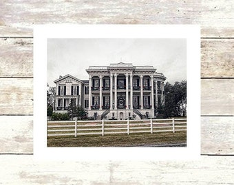 NOTTOWAY - Mississippi River Road Plantations - Fine Art Photograph-Limited Edition of 250