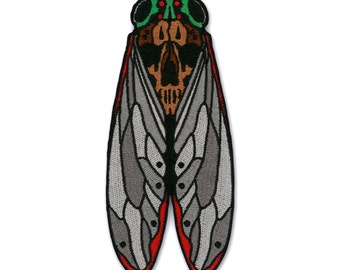 Death's Head Cicada Patch