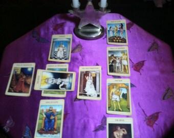 Full Tarot Reading, Celtic Cross Reading, Same Day, Email Reading