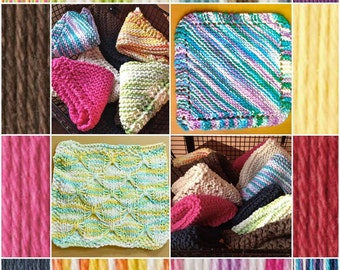 Hand Knit Dishcloths
