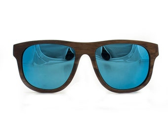 Wooden sunglasses - Ifaty beach, Hoentjen Creatie