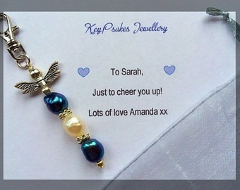 Freshwater Pearl Dragonfly Bag charm