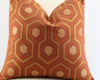 Tunnelzone Paprika by kravet , pillow cover,accent pillow,decorative pillow.throw pillow,lumbar pillow.same fabric on front and back.