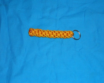 Goldenrod Paracord Key Chain