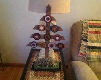 Primitive Penny Rug Tree