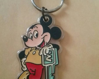 Old Mickey key chain