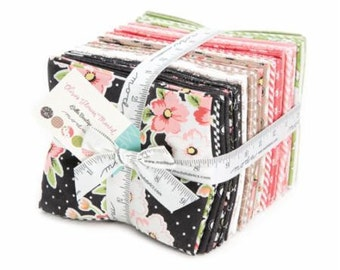 Moda Olives Flower Market Fat Quarter Bundle by Vanessa Goertzen of Lella Boutique