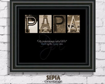 fathers day gift papa sign papa frame papa gift gift for papa christmas gift for papa papa christmas gift