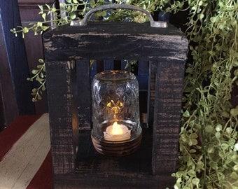 Handcrafted Wooden Mini Lantern