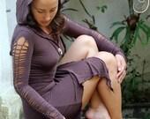 Fairy tunic dress. Burning Man Festival, doof, dance outfit. Alternative clothing Elf dress handmade in Bali