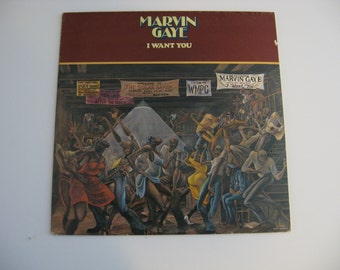 Original Release - Marvin Gaye - I Want You - 1976