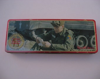 Elvis Presley - GI Elvis - Russell Stover Candy Tin - Collectors Series