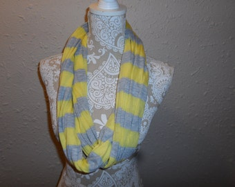 Infinity Scarf in Jersey Knit