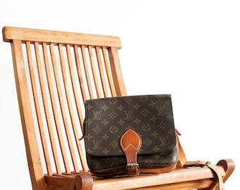 Vintage Louis Vuitton bag / brown leather bag