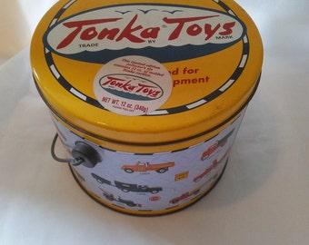 tin Tonka Toys tin collector tin