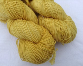 4ply sock weight hand dyed yarn, Pot of Gold