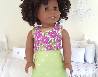 18 inch doll skirt and crop top