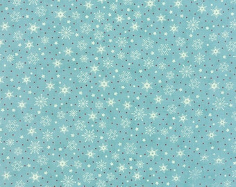 Sweetwater Christmas snowflakes Aqua - the cookie exchange splash
