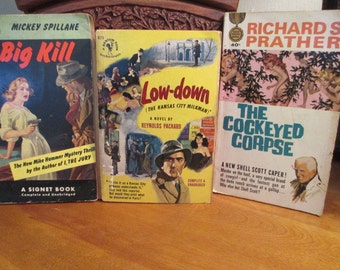 Detective Paperback Books (3)