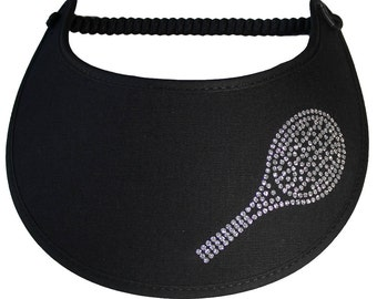 Feel as good as you look wearing  this light weight sun visor which can be worn all day without a headache.