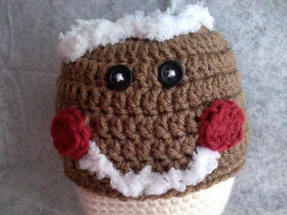 Free Crochet Pattern For Gingerbread Man Hat : Crochet Gingerbread Hat Gingerbread man by Countrycutecrochet