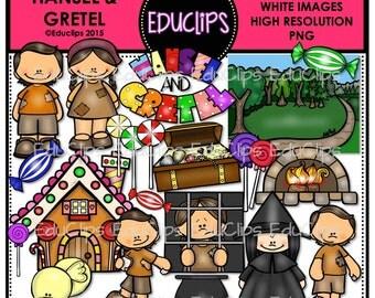 Hansel and Gretel Clip Art Bundle