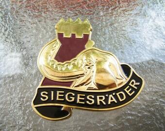SIEGESRADER 53d Transportation Battallon MC Command Team Challenge Coin