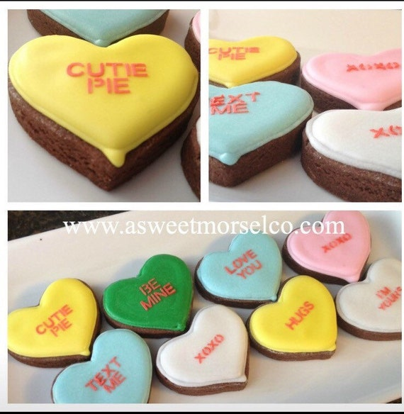 Valentine Mini Conversation Hearts