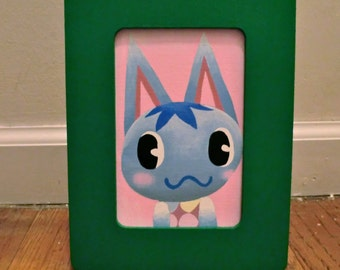 Animal Crossing: New Leaf Villager Picture - Rosie (custom orders welcome - message me!)