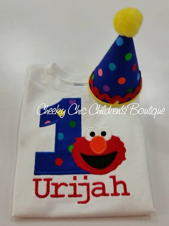 SESAME STREET ELMO Birthday Tee - Boys & Girls