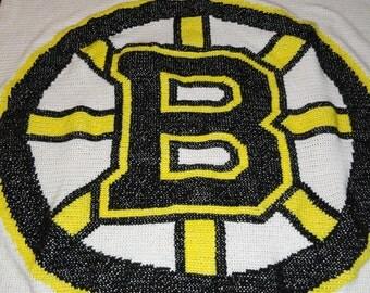 Boston Bruins Blanket
