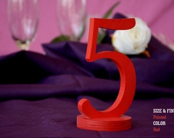 Wooden Table Numbers, SET 1/25, Wedding Decor for Wedding Table Numbers, Elegant Wedding Table Numbers, Gold Table Numbers