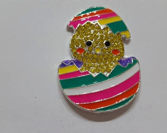 Chick in Egg  Needle Minder