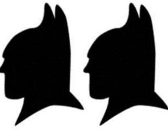 Bat Head Decals