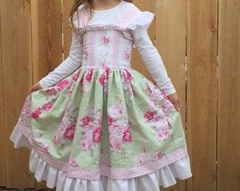 Lillianna Handmade, Custom, Boutique, Twirl, Dress