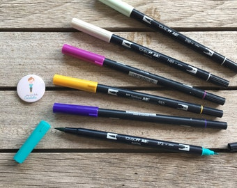 Tombow ABT Dual Brush Pen - Assorted B