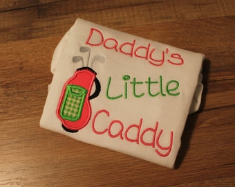 Daddy's Little Caddy Onsie - Toddler Shirt