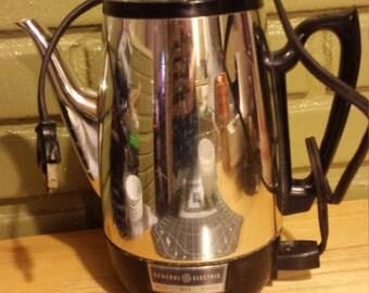 General Electric GE Coffee Percolator