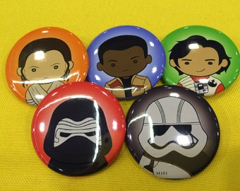 SW:TFA Fan Art Buttons