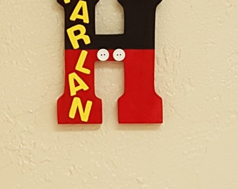Mickey Mouse Letter Decoration