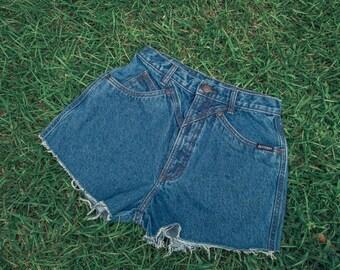 Vintage Women's Denim Cutoff Shorts
