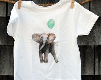 Little Elephant Toddler T-shirt