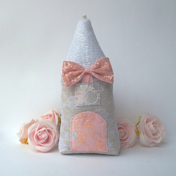 Tooth Fairy pillow house nursery decor cute baby shower