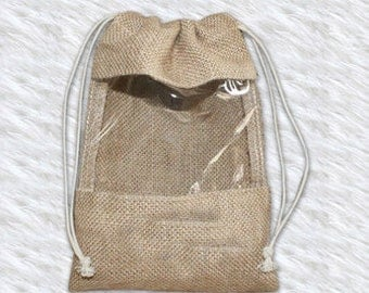 Free Shipping,100pcs/lot, Various size available,Jute Burlap Gift pouch,Jute drawstring bag,Custom size and logo print acceptable